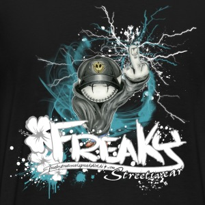 Little Freak Mascotte Sweaters - Mannen Premium T-shirt