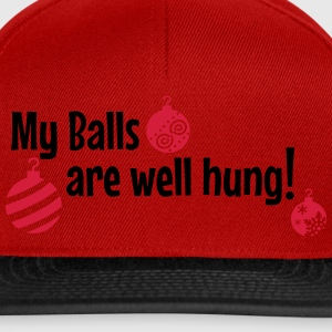My Balls are well hung T-Shirts - Snapback Cap