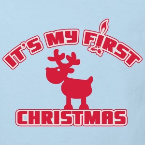 It's my first Christmas Tee shirts - T-shirt Bio Enfant