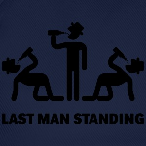Last Man Standing (Binge Drinking Party) T-Shirts - Baseball Cap