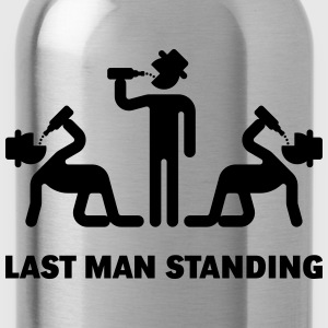 Last Man Standing (Binge Drinking Party) T-Shirts - Water Bottle