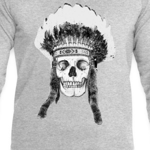 skull indian headdress Tee shirts - Sweat-shirt Homme Stanley & Stella