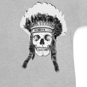 skull indian headdress Tee shirts - T-shirt Bébé