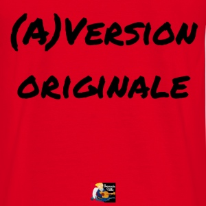 (A)Version Originale, jeux de mots, Francois Ville Sweat-shirts - T-shirt Homme