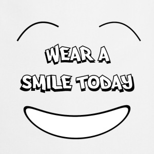 Wear a smile today T-paidat - Esiliina