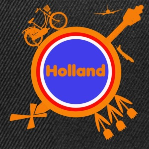 Hollandrond T-shirts - Snapback cap