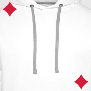 Carte carreau T-Shirts - Men's Premium Hoodie
