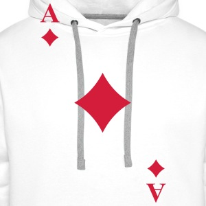 Ace of diamonds T-Shirts - Men's Premium Hoodie