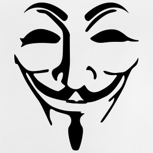 Anonymous Maske fawkes T-Shirts - Baby T-Shirt