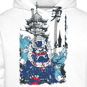 China Doggy Monster - T-Shirt - bananaharvest - Männer Premium Hoodie