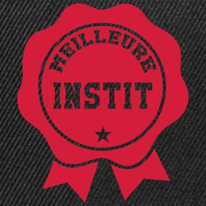 Meilleure Instit Tee shirts - Casquette snapback