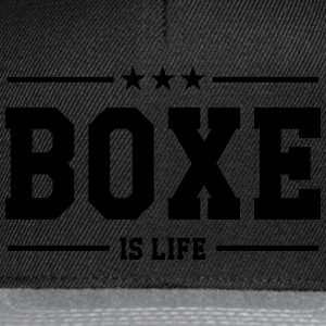 Boxe is life ! Tee shirts - Casquette snapback