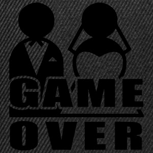 Game Over - Marriage T-Shirts - Snapback Cap