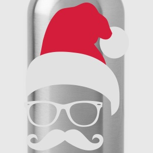 Hipsta Claus T-Shirts - Water Bottle