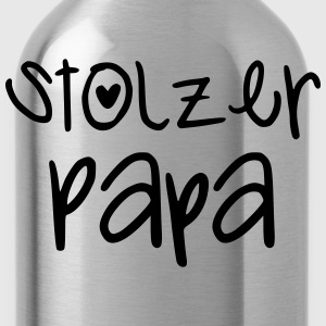Stolzer Papa T-Shirts - Trinkflasche