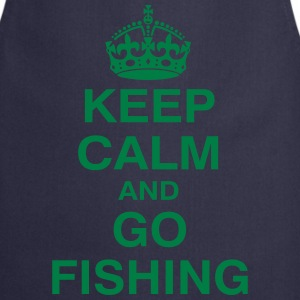 KEPP CALM and GO FISHING T-Shirts - Kochschürze