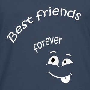 Best friends forever Tee shirts - T-shirt manches longues Premium Homme