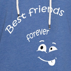 Best friends forever Sweats - Sweat-shirt à capuche léger unisexe