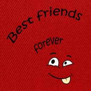 Best friends forever Shirts - Snapback Cap