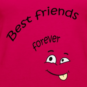 Best friends forever T-Shirts - Frauen Premium Tank Top
