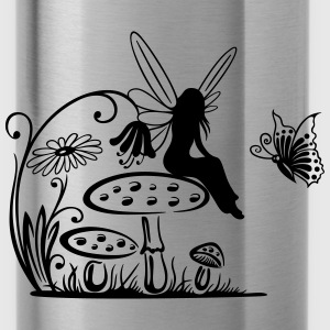 Elfe, Fee, fairy, elf T-Shirts - Water Bottle