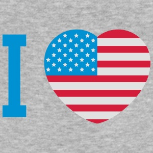 I love America Hoodies & Sweatshirts - Men's Slim Fit T-Shirt