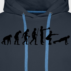 Evolution - Crossfit T-Shirts - Men's Premium Hoodie