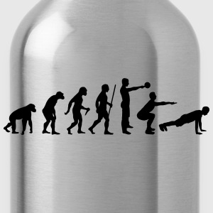 Evolution - Crossfit T-Shirts - Water Bottle