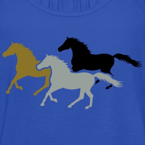 Herd of Galloping Horses T-Shirts - Women's Tank Top by Bella
