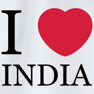 I love India T-Shirts - Drawstring Bag