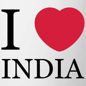 I love India T-Shirts - Tasse