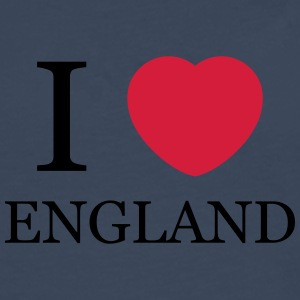 I love England personnalisable - T-shirt manches longues Premium Homme
