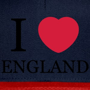 I love England personnalisable - Casquette snapback