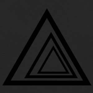 Geometric Triangles T-Shirts - Men's Premium Longsleeve Shirt