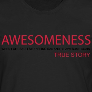 Awesomeness T-Shirts - Men's Premium Longsleeve Shirt