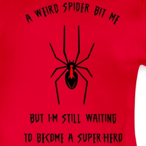 Weird spider Shirts - Organic Short-sleeved Baby Bodysuit