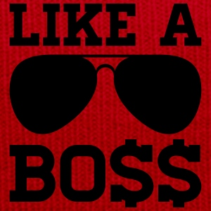 LIKE A BOSS T-Shirts - Wintermütze