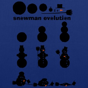 Evolution Kit bonhomme de neige  Tee shirts - Tote Bag