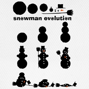 Snowman Kit Evolution  T-shirts - Basebollkeps