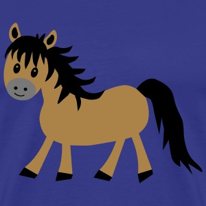 Cute Pony / Horse - Men's Premium T-Shirt