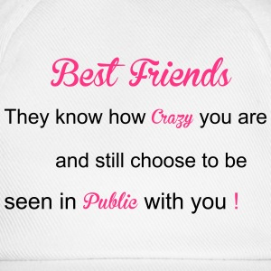 Best Friends Hoodies & Sweatshirts - Baseball Cap