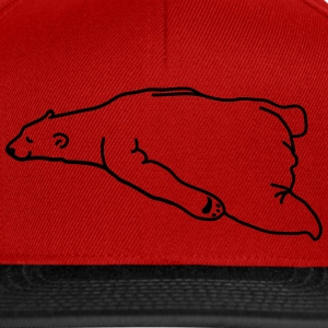lazy_bear T-shirts - Snapback Cap