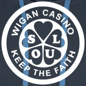 Wigan Casino T-Shirts - Men's Premium Hoodie