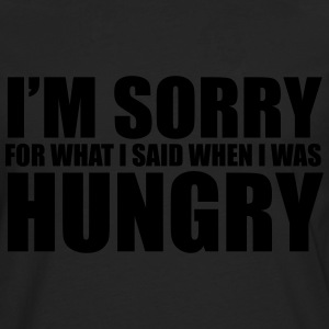 Hungry T-Shirts - Men's Premium Longsleeve Shirt