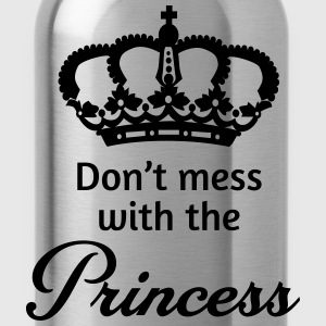 Don't mess with the princess T-Shirts - Water Bottle