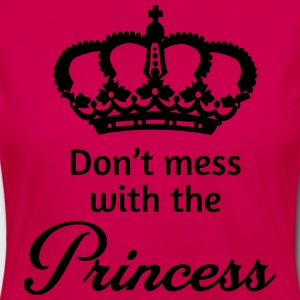 Don't mess with the princess T-Shirts - Women's Premium Longsleeve Shirt