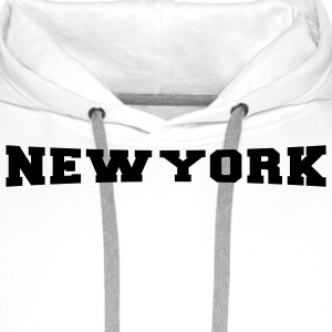 New York City - NYC - Big Apple T-Shirts - Männer Premium Hoodie