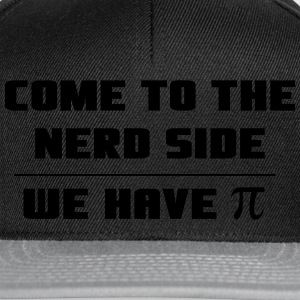Come to the nerd side. We have Pi T-Shirts - Snapback Cap