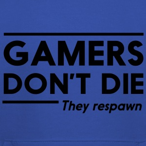 Gamers don't die they respawn T-Shirts - Kids' Premium Hoodie
