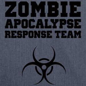 Zombie Apocalypse Response Team T-Shirts - Shoulder Bag made from recycled material